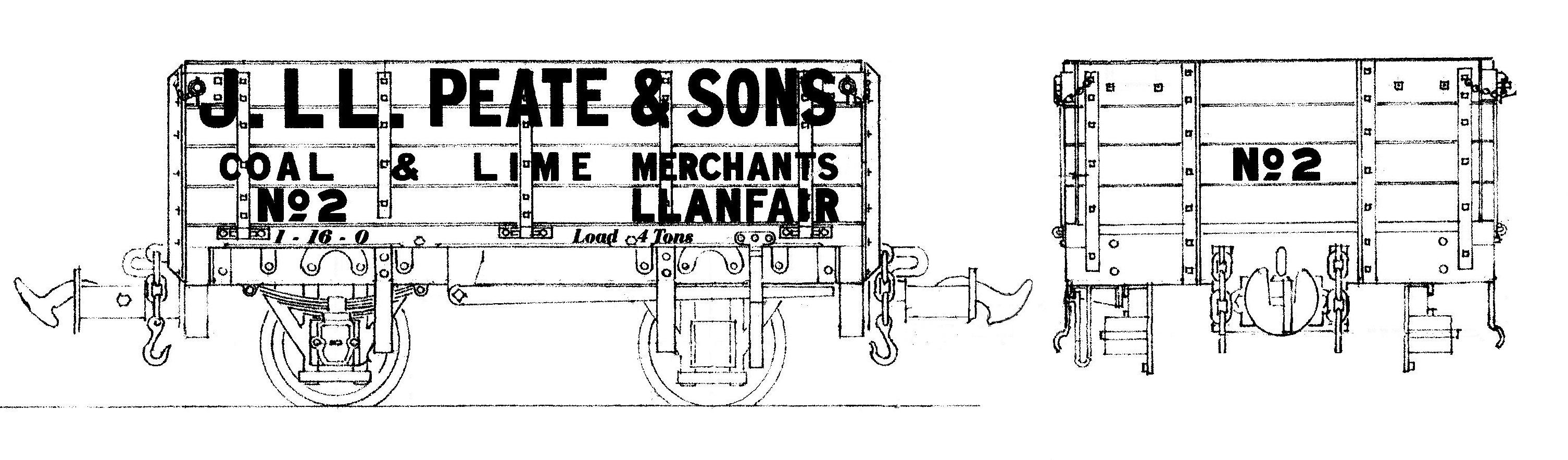 Welshpool & Llanfair open wagons - The Home Machinist!