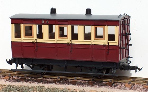 IOM 3rd Class 4 Wheel Coach