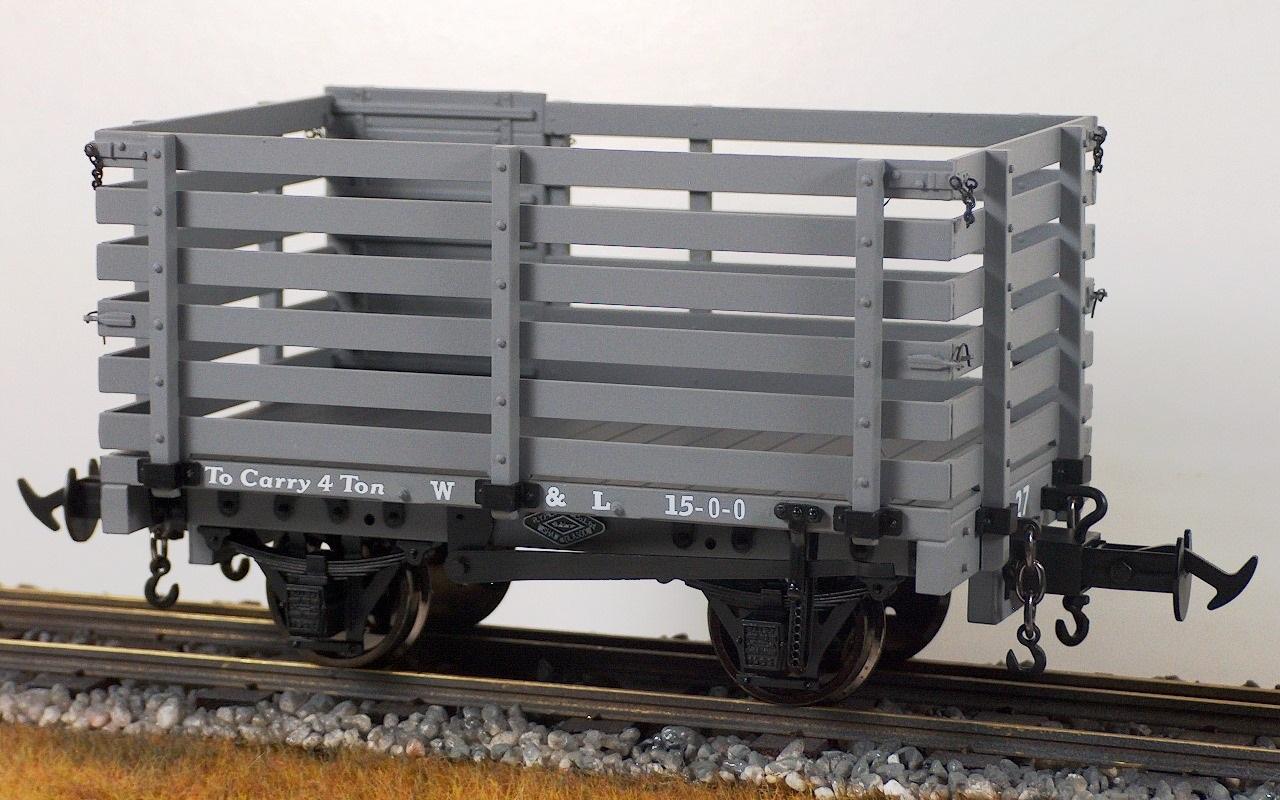 z33 w l sheep wagon body kit w l unpainted mouldings only