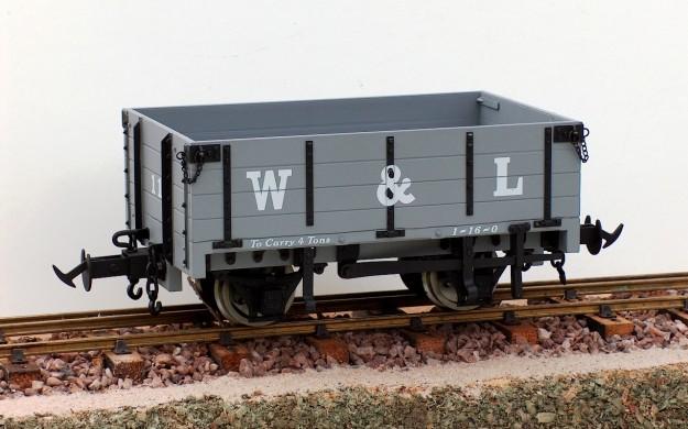 W&L Wagon - W&L Light Grey