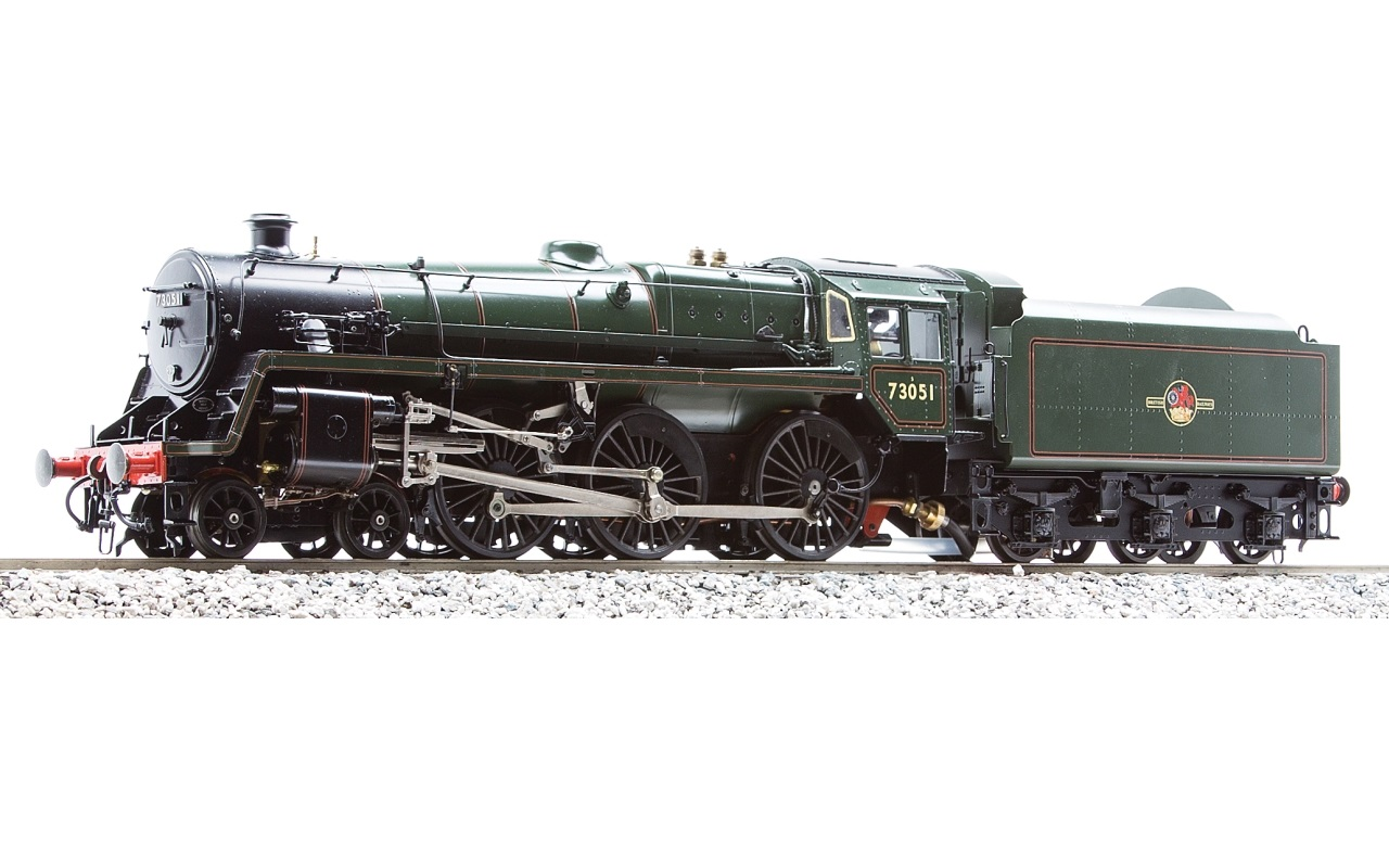 BR 5MT 4-6-0 Live Steam, Alcohol Fired | Accucraft UK Ltd