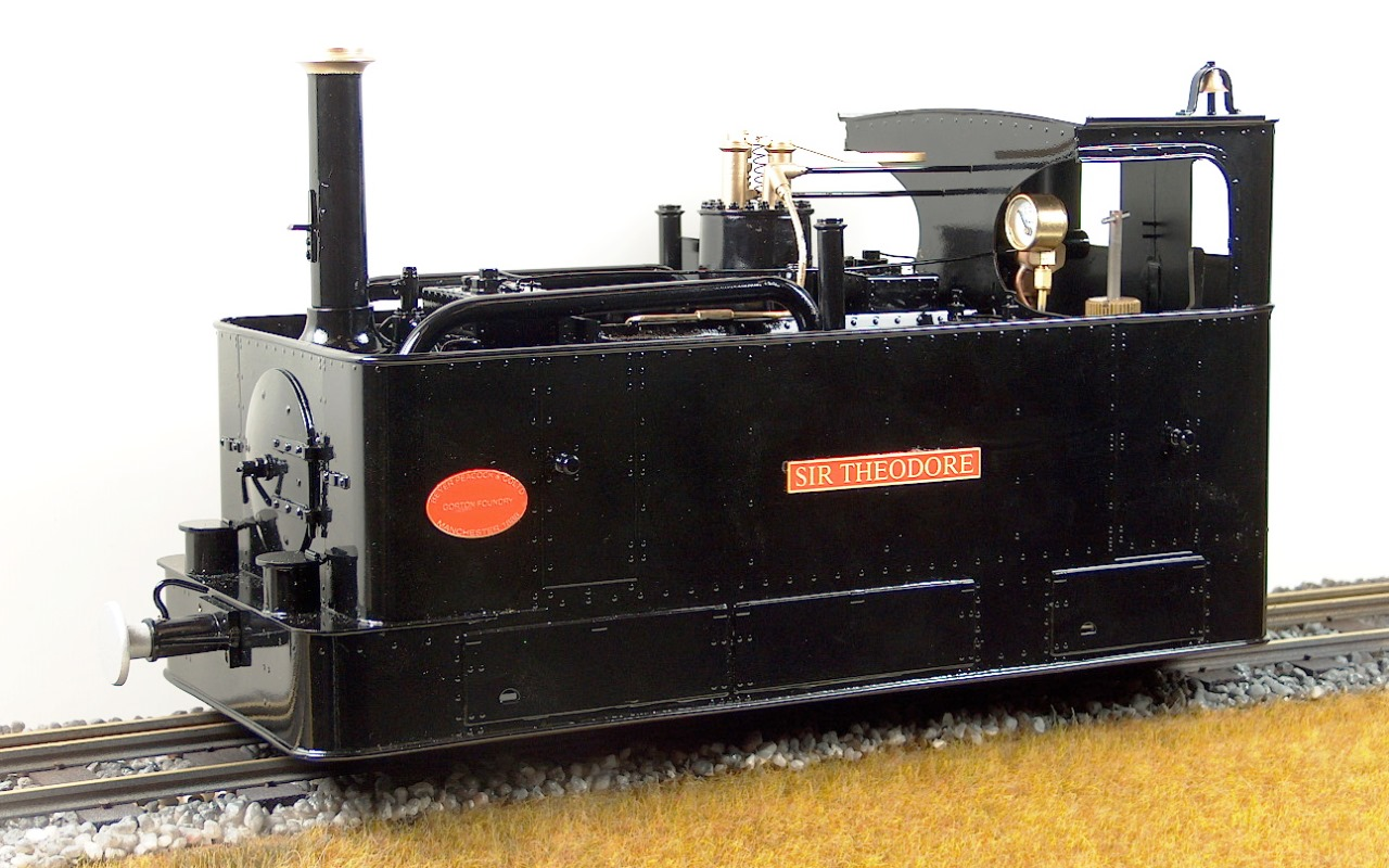 �sir theodore� glyn valley tramway live steam 040t