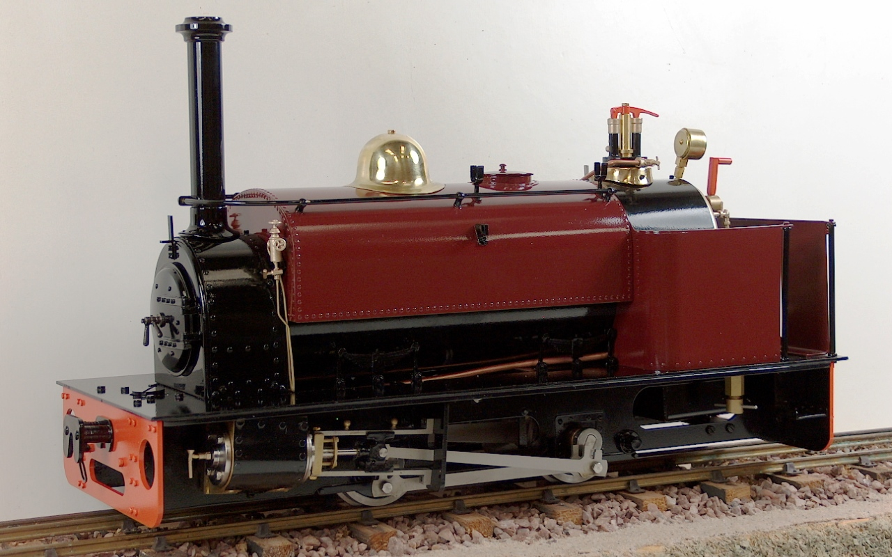 Quarry Hunslet Live Steam 0 4 0st In 7 8ths Scale